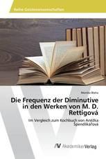 Die Frequenz der Diminutive in den Werken von M. D. Rettigová