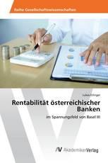 Rentabilität österreichischer Banken