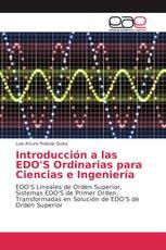 Introducción a las EDO'S Ordinarias para Ciencias e Ingeniería