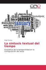 La sintaxis textual del tiempo