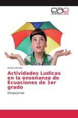 Actividades Ludicas en la enseñanza de Ecuaciones de 1er grado