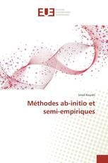 Méthodes ab-initio et semi-empiriques
