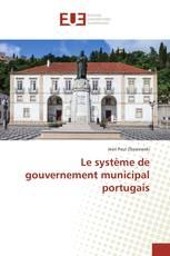 Le système de gouvernement municipal portugais