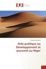 Aide publique au Développement et pauvreté au Niger