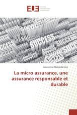 La micro assurance, une assurance responsable et durable