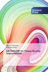 DSTATCOM for Power Quality Improvement