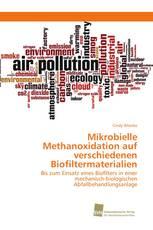Mikrobielle Methanoxidation auf verschiedenen Biofiltermaterialien