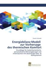 Energiebilanz-Modell zur Vorhersage des thermischen Komfort