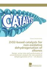 ZrO2-based catalysts for non-oxidative dehydrogenation of alkanes