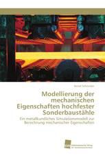 Modellierung der mechanischen Eigenschaften hochfester Sonderbaustähle