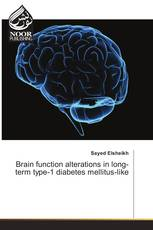 Brain function alterations in long-term type-1 diabetes mellitus-like
