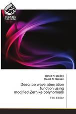 Describe wave aberration function using modified Zernike polynomials