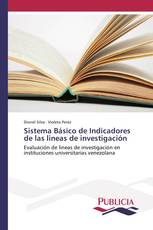 Sistema Básico de Indicadores de las lineas de investigación