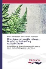 Hormigón con zeolita natural. Diseño, optimización y caracterización