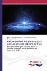 Óxidos y mineral de hierro para aplicaciones de captura de CO2