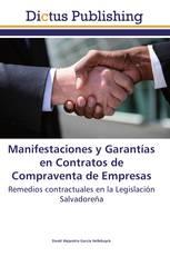 Manifestaciones y Garantías en Contratos de Compraventa de Empresas