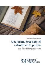 Una propuesta para el estudio de la poesía