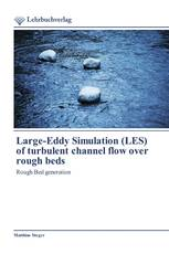 Large-Eddy Simulation (LES) of turbulent channel flow over rough beds