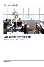 Architekturpsychologie