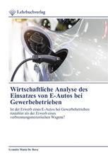 Wirtschaftliche Analyse des Einsatzes von E-Autos bei Gewerbebetrieben