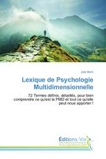Lexique de Psychologie Multidimensionnelle