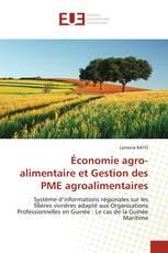 Économie agro-alimentaire et Gestion des PME agroalimentaires