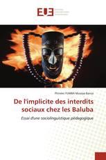 De l'implicite des interdits sociaux chez les Baluba