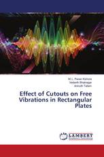 Effect of Cutouts on Free Vibrations in Rectangular Plates