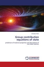 Group contribution equations of state