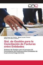 Sist. de Gestión para la Conciliación de Facturas entre Entidades