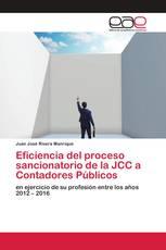 Eficiencia del proceso sancionatorio de la JCC a Contadores Públicos