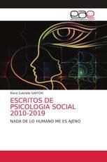 ESCRITOS DE PSICOLOGIA SOCIAL 2010-2019