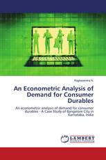 An Econometric Analysis of Demand for Consumer Durables