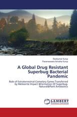 A Global Drug Resistant Superbug Bacterial Pandemic