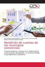 Rendición de cuentas de los municipios sonorenses