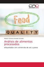 Análisis de alimentos procesados