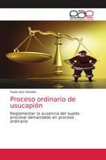 Proceso ordinario de usucapión