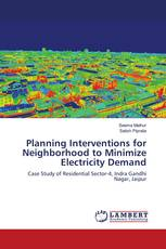 Planning Interventions for Neighborhood to Minimize Electricity Demand