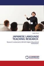 JAPANESE LANGUAGE TEACHING RESEARCH