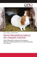 Panel Metabólico básico de cobayos machos
