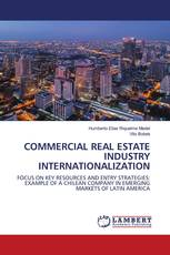 COMMERCIAL REAL ESTATE INDUSTRY INTERNATIONALIZATION