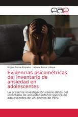 Evidencias psicométricas del inventario de ansiedad en adolescentes