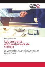 Los contratos administrativos de trabajo
