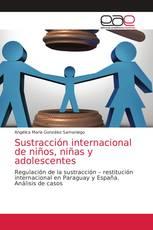 Sustracción internacional de niños, niñas y adolescentes