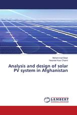 Analysis and design of solar PV system in Afghanistan