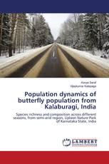 Population dynamics of butterfly population from Kalaburagi, India