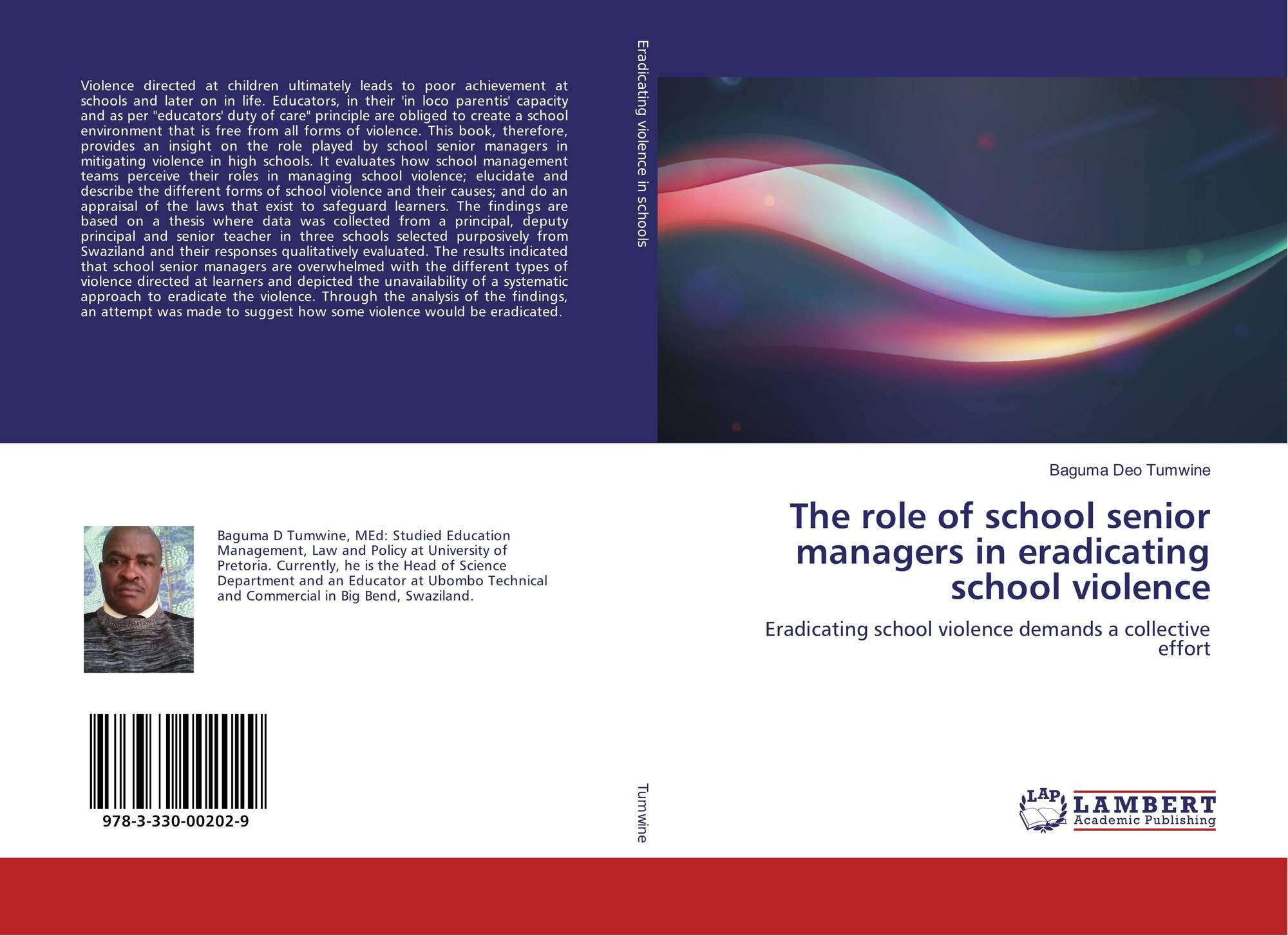 an analysis of school violence