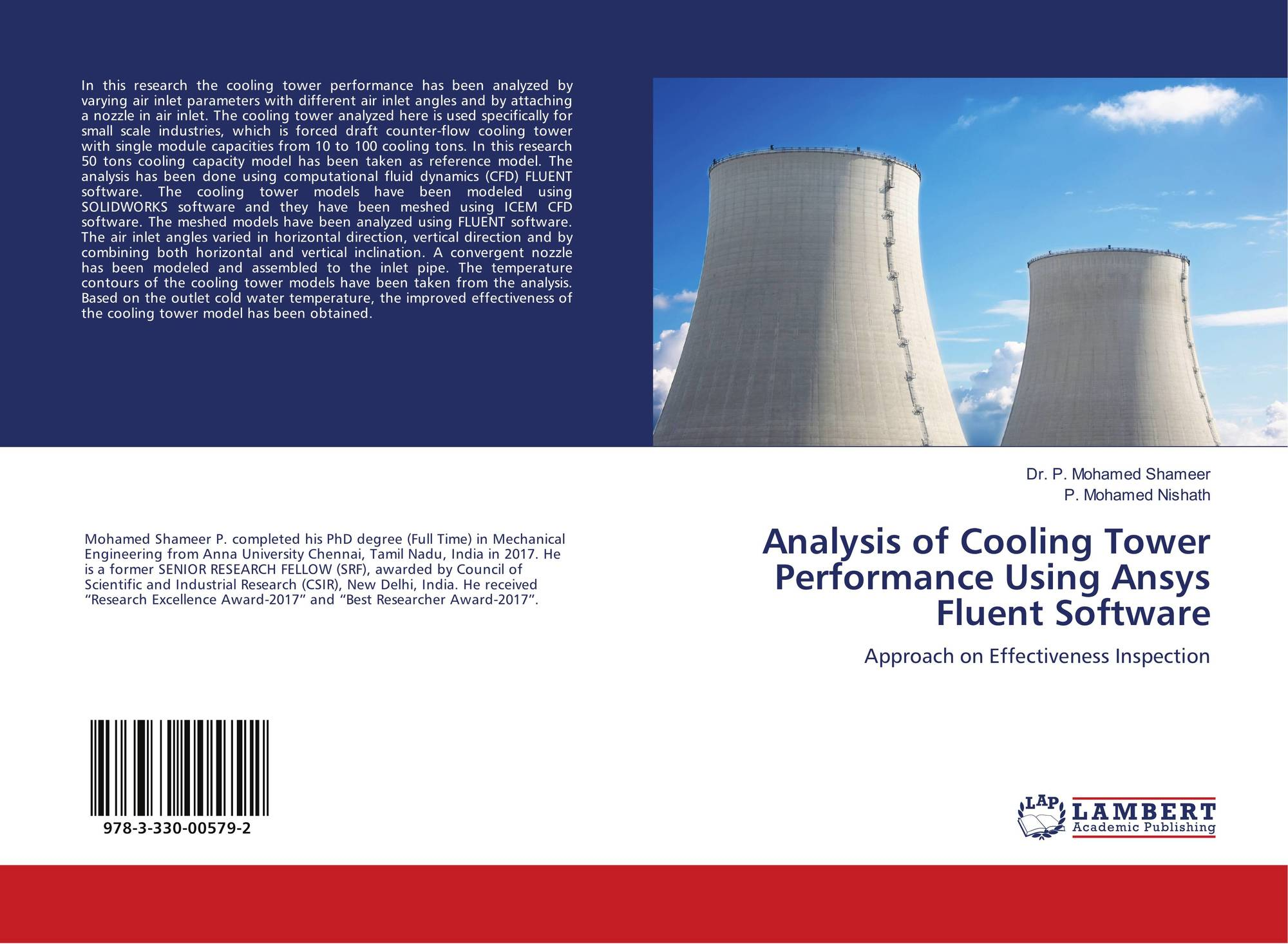 Analysis of Cooling Tower Performance Using Ansys Fluent Software
