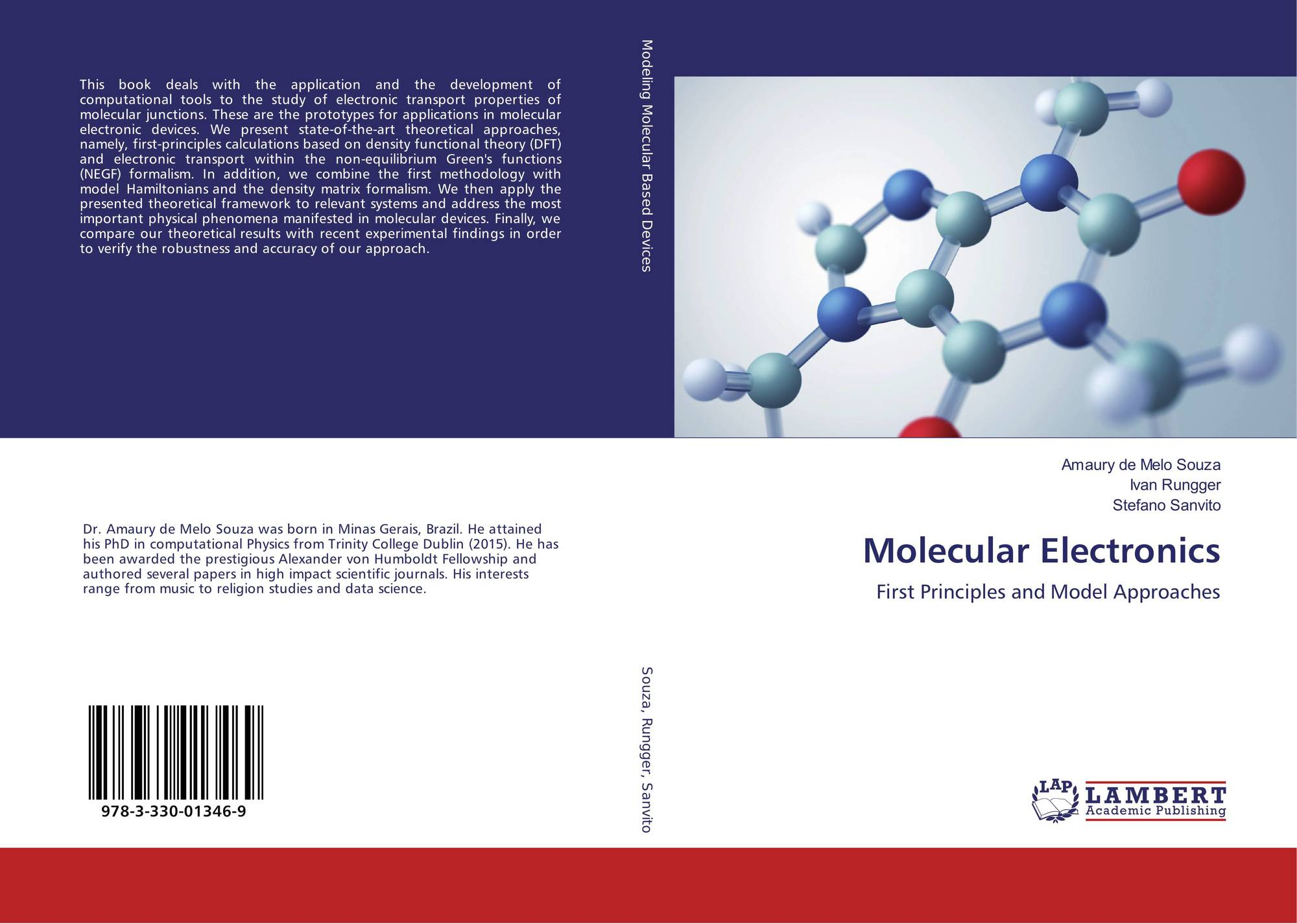 molecular electronics The course introduces the conductance properties of molecular systems, quantum systems in nature, and state-of-the-art research on this topic there is an emphasis on metal/single-molecule/metal junctions, but organic film devices are also treated.