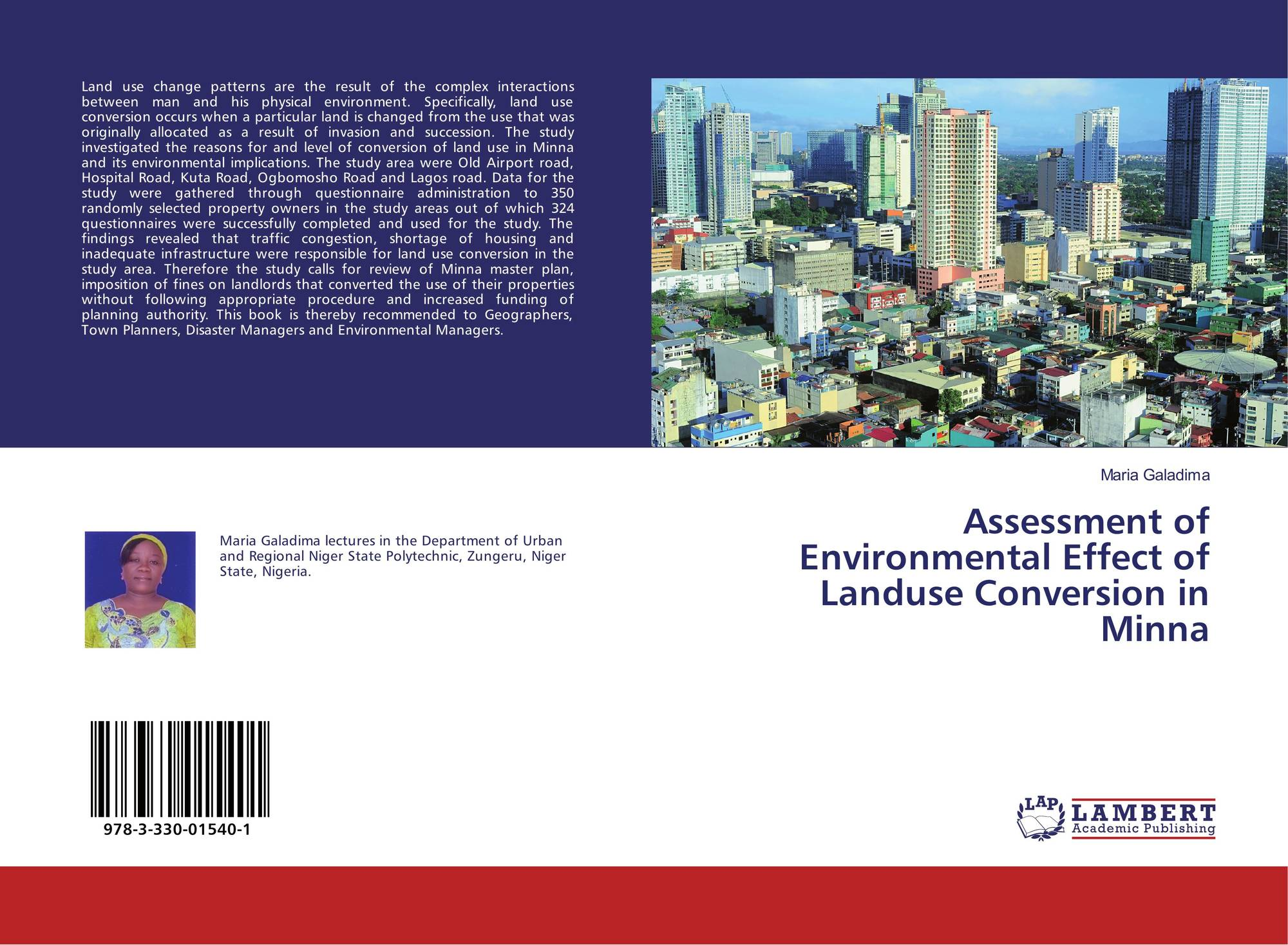 analyses of landuse invasion in lagos